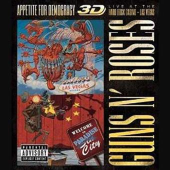 Appetite For Democracy 3D: Live At The Hard Rock Casino, Las Vegas  (2CD+BD)