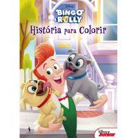 Bingo e Rolly: História Para Colorir