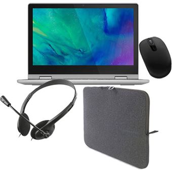 Pack Fnac Lenovo IdeaPad Flex 3 11IGL05 + Sleeve + Rato + Auscultadores + Office 365 - 1 ano