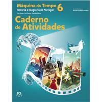 Máquina do Tempo - História e Geografia de Portugal 6º Ano - Caderno de Atividades