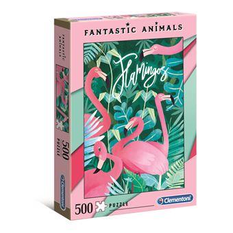Puzzle Flamingo - 500 Peças - Clementoni