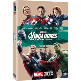 Vingadores: A Era de Ultron - Capa de Colecionador - DVD