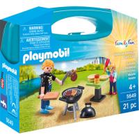 Playmobil Family Fun 5649 Maleta Grelha