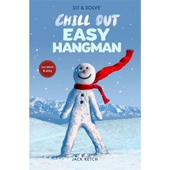 Sit & solve chill out easy hangman