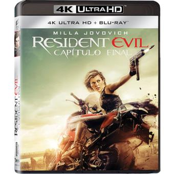 Resident Evil: Capítulo Final (4K Ultra HD + Blu-ray)