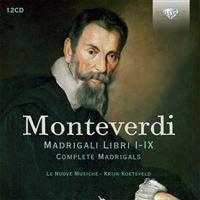 Monteverdi: Complete Madrigals - 12CD