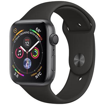 Apple Watch Series 4 44mm - Alumínio Cinzento | Bracelete Desportiva - Preto