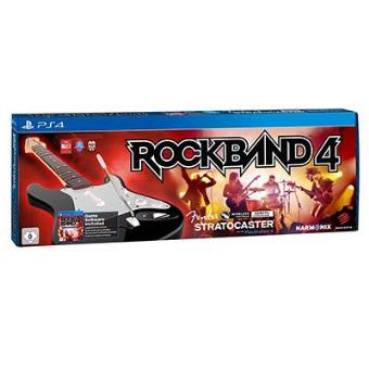 Pack Rock Band 4 + Guitarra Fender Stratocaster PS4