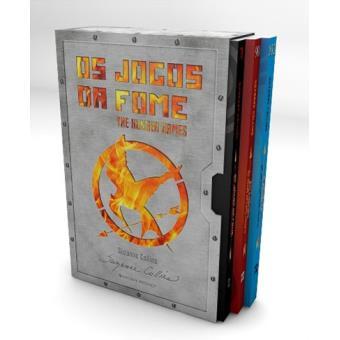 35f2076aab2a2 Pack Trologia «Os Jogos da Fome» - Suzanne Collins - Compra Livros ...