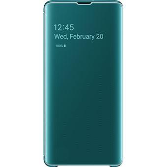Capa Samsung Clear View para Galaxy S10+ - Verde