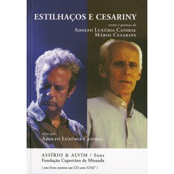 Estilhaços e Cesariny - Livro + CD