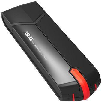 Adaptador Wi-Fi USB 3.0 Asus AC68 AC1900