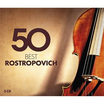 50 Best Rostropovich - 3CD