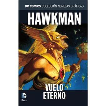 Hawkman-vuelo eterno-dc-novelas gra