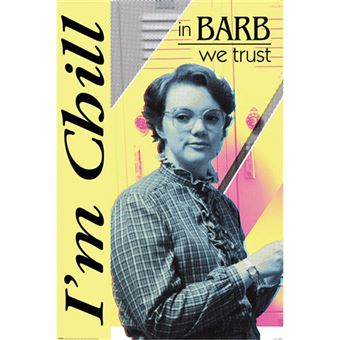 Poster Stranger Things: In Barb we Trust
