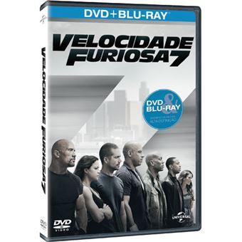 Velocidade Furiosa 7 - Blu-ray + DVD