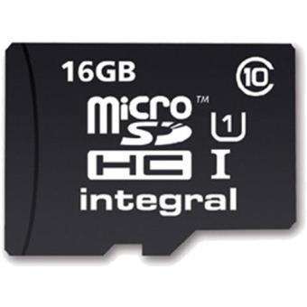 Integral microSDHC 16GB 90MB/s Classe 10