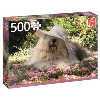 Puzzle Sophie In A Bed Of Flowers - 500 Peças