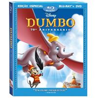Dumbo - 70º Aniversário - Blu-ray + DVD