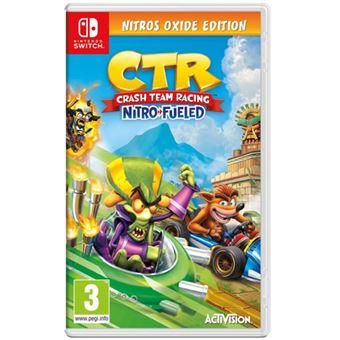 Crash Team Racing Nitro-Fueled - Nitros Oxide Edition - Nintendo Switch