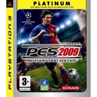 Pro Evolution Soccer 2009 Platinum PS3