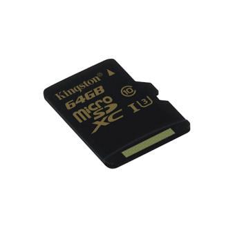 Cartão microSDXC Kingston Technology Gold UHS-I 64GB 90MB/45MB Classe 3