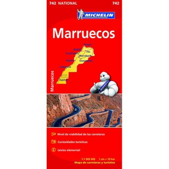 Michelin Mapa- Marrocos