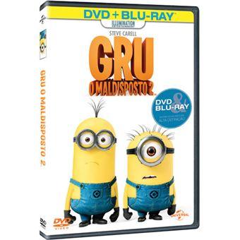 Gru: O Maldisposto - DVD + Blu-ray