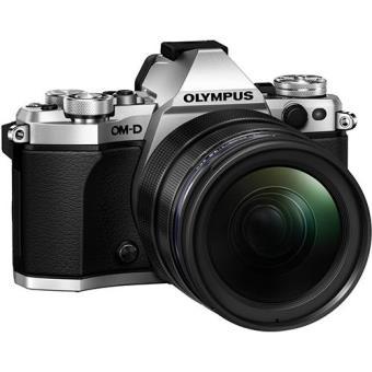 Olympus OM-D E-M5 Mark II + M. Zuiko Digital ED 12-40mm f/2.8 PRO (Prateado)