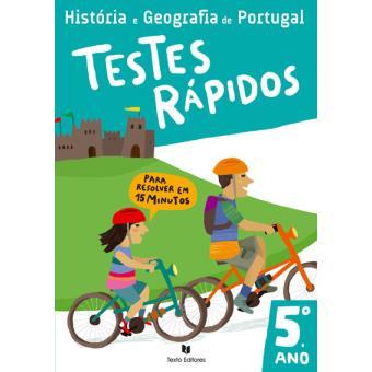 História e Geografia de Portugal - Testes Rápidos  5º Ano