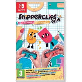 Snipperclips Plus: Cut it out Together! Nintendo Switch