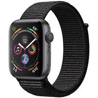 Apple Watch Series 4 44mm - Alumínio Cinzento | Bracelete Loop Desportiva - Preto