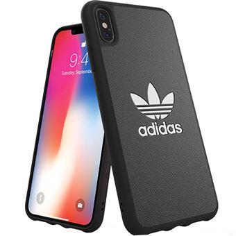 Capa Adidas Moulded Basic para iPhone XS Max - Preto
