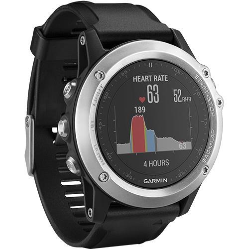 a769a134b8c Relógio Garmin fēnix 3 HR - Prata - Relógios Desporto - Compra na Fnac.pt