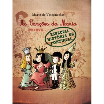 As Canções da Maria (CD + DVD + Livro)