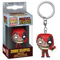 Funko Pop! Porta-Chaves Marvel Zombies: Deadpool