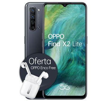 Smartphone Oppo Find X2 Lite - 128GB - Obsidian Black + Auriculares Bluetooth True Wireless Oppo Enco Free