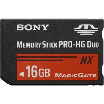 Sony Memory Stick Pro-HG Duo HX - 16GB