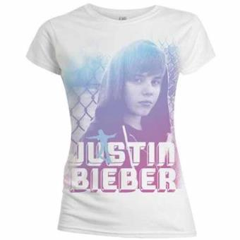 Justin Bieber T-Shirt: On Da Fence (L) Skinny