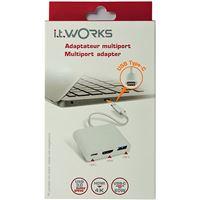 Adaptador USB-C ITWORKS para HDMI - Branco