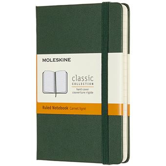 Caderno de Bolso Pautado Moleskine - Verde Myrtle