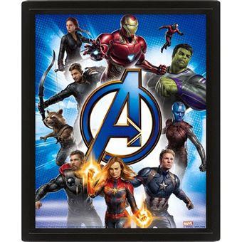 Poster Lenticular Avengers Endgame: To Action