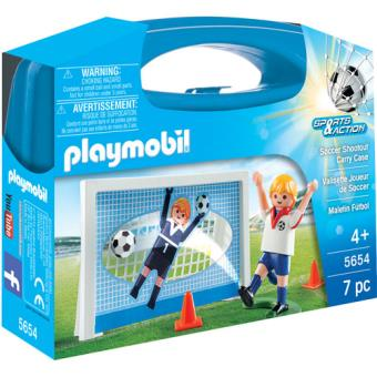 Playmobil Sports & Action 5654 Maleta Futebol
