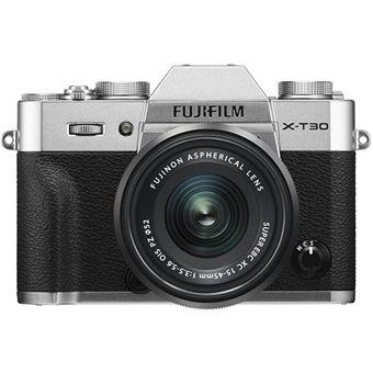 Fujifilm X-T30 + XC 15-45mm f/3.5-5.6 OIS PZ - Prateado