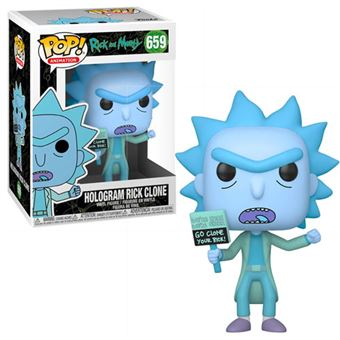 Funko Pop! Rick and Morty: Hologram Rick Clone - 659