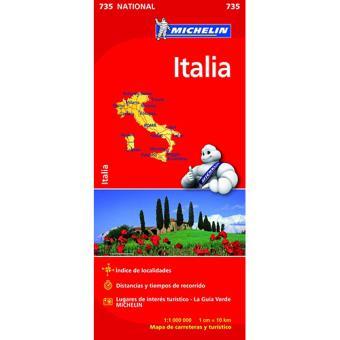 Michelin Mapa Itália