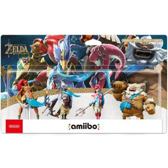 Amiibo The Legend of Zelda: Breath of the Wild - Pack 4 Figuras (The Champions)