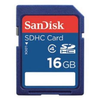 Sandisk SDHC 16GB Classe 4