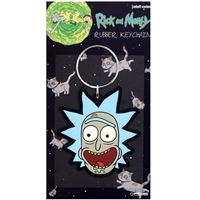 Porta-Chaves de Borracha Rick & Morty