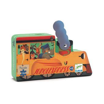 Puzzle Locomotiva - Djeco